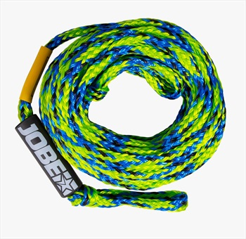 Jobe Heavy Duty Towable Tube Rope, 6 Rider Green Blue 2020