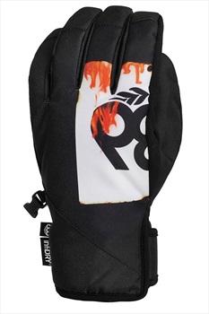 686 Ruckus Pipe Ski/Snowboard Gloves, XL Fire