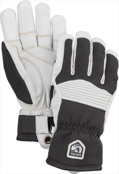 Hestra Army Leather Couloir Ski/Snowboard Gloves, L Black