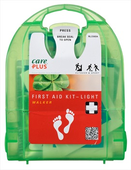 Care Plus Light Walker Compact First Aid Kit, 16 Pcs Green