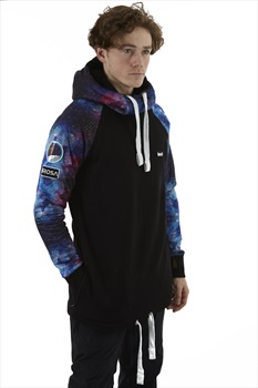 bro! Chill N'shred Unisex Ski/Snowboard Hoodie, S Send It To The Moon