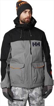 Helly Hansen Fernie 2.0 Snowboard/Ski Insulated Jacket L Quiet Shade