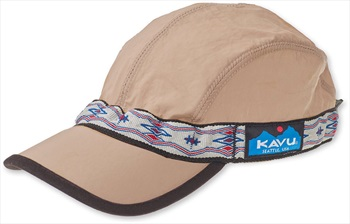 Kavu Synthetic Capstrap Low Profile Sailing/Kayaking Hat, M Pyrite