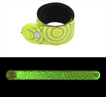 Nite Ize SlapLit Rechargeable Slap Wrap High Vis LED Armband, Yellow