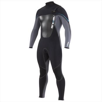 Animal ASSASSIN 3/2mm Surfing Back Zip Wetsuit, S, Black