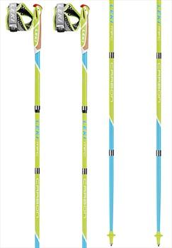 Leki Micro Flash Carbon Compact Nordic Walking Poles, 120cm