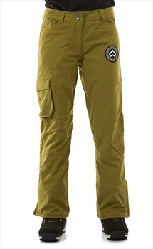 Westbeach Devotion Women's Ski/Snowboard Pants, L Combat Green