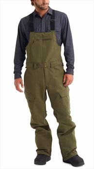 Burton Reserve Bib Ski/Snowboard Pants Trousers, L Keef