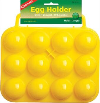 Coghlan's 12 Egg Holder Camping & Outdoor Egg Carrier, Yellow