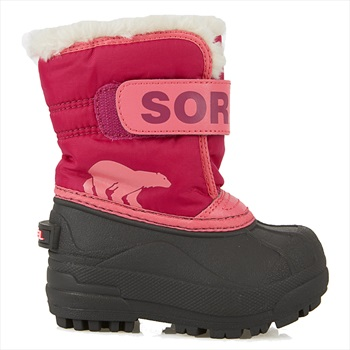 Sorel Snow Commander Kid's Snow Boots, UK Infant 5 Tropic Pink/Blush