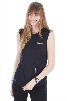 Montane Snap Sleeveless Women's Tank Top Vest, M Black