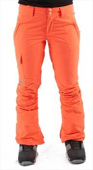 DC Recruit Women's Ski/Snowboard Pants, M Fiery Coral