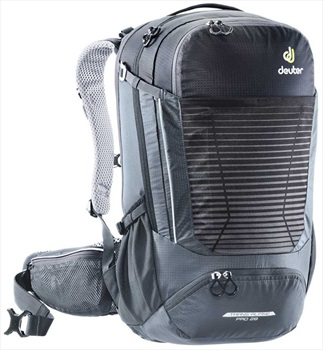 Deuter Trans Alpine Pro 28 Biking Backpack, 28L Black/Graphite