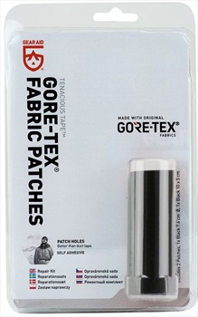 Gear Aid Tenacious Tape Gore-Tex Fabric Patches Clothing Repair Kit