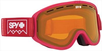 SPY Woot Persimmon Snowboard/Ski Goggles, M Deep Winter Blush