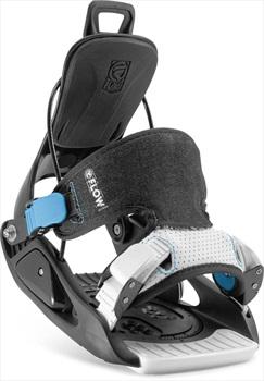 Flow Micron Kids Snowboard Bindings, XS Black 2020