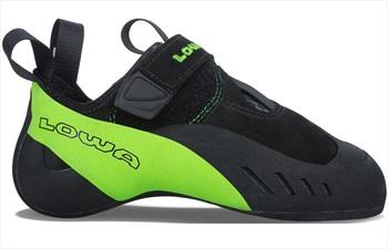 Lowa Rocket Rock Climbing Shoe: UK 6 | EU 39.5, Black & Lime