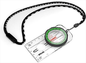 SILVA Ranger Compass 1:25K, 1:50K DofE Navigation Aid, 360° Green