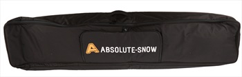 Absolute Hybrid Wheelie Ski/Snowboard Bag, 160cm All Black