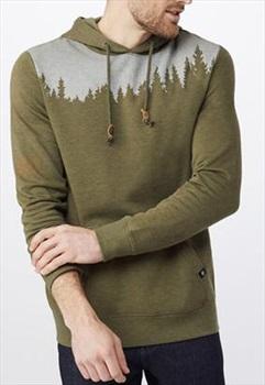 Tentree Adult Unisex Juniper Men's Hoodie, XL Olive Night Green