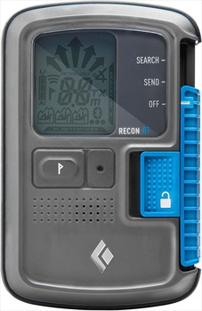 Black Diamond Recon BT Avalanche Transceiver Beacon, Grey/Blue