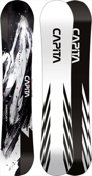 Capita Mercury Hybrid Camber Snowboard, 153cm 2021