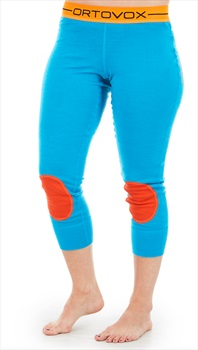 Ortovox Rock'n'Wool Short Women's Thermal Pants, XS Blue Lagoon