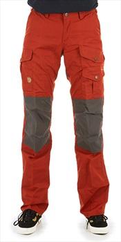 Fjallraven Barents Pro Women's Hiking Trousers, 40 Autumn Leaf/Grey