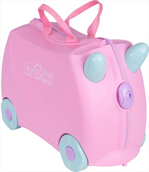 Trunki Rosie Kid's Wheeled Hand Luggage, 18L Pink