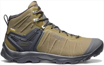Keen Venture Mid Waterproof Hiking Boots, UK 8 | EU 42 Olive/Raven