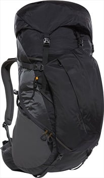 The North Face Griffin S/M Hiking Backpack, 75L Asphalt Grey/TNF Black