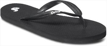 DVS Marbella Flip Flops, UK 7, Black