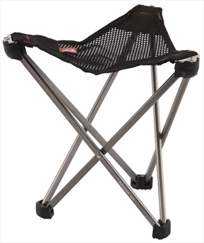 Robens Geographic Ultralight Compact Camp Stool, 22cm Silver Grey