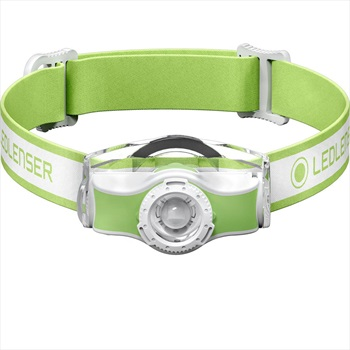 Led Lenser MH5 Headlamp IPX54 Rechargeable Led Head Torch, Green