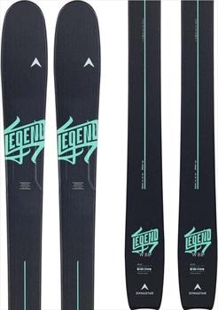 Dynastar Legend W88 XP 10 GW Women's Skis, 159cm Black/Green 2020