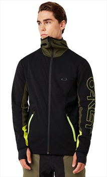 Oakley Hot Springs Thermal Mid-Layer Fleece, XL Blackout