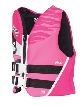 O'Brien Youth | Teen Biolite Watersports Life Jacket, Youth Pink