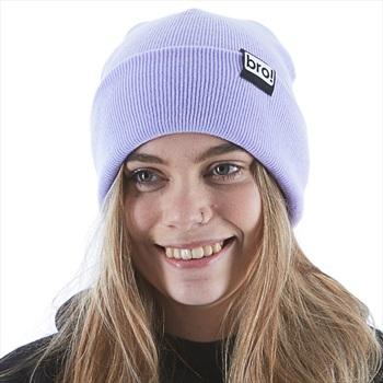 bro! Bro! Ski/Snowboard Beanie, One Size Lavender