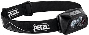 Petzl Tactikka + RGB IPX4 Headtorch, 350 Lumens Black