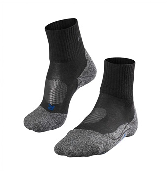 Falke TK2 Short Cool Men's Hiking/Walking Socks UK 5.5-7.5 Black