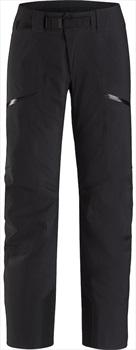Arcteryx Sentinel AR Gore-Tex Womens Snowboard/Ski Pants UK 6 Black