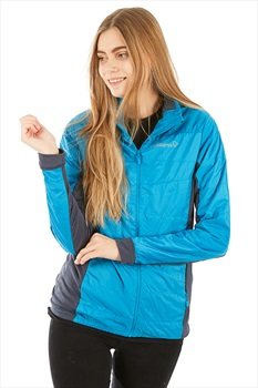 Norrona Falketind Alpha 60 Women's Insulated Jacket UK 12 Blue Moon
