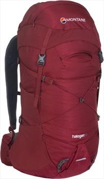 Montane Halogen Mountain Climbing Backpack, 33L S/M Redwood