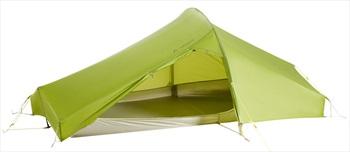 Vaude Power Lizard Seamless 1-2P Ultralight Backpacking Tent, Cress