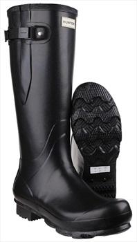 Hunter Adult Unisex Norris Adjustable Wellington Boot, UK 9 Black
