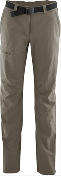 Maier Sports Womens Inara Slim Short Stretch Hiking Pants, UK 8 Teak