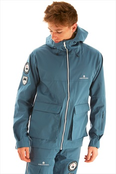 Amundsen Peak Ski/Snowboard Jacket, L Faded Blue