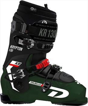 Dalbello Mens Krypton 130 Id Ski Boots, 28.5 Forest Green/Black