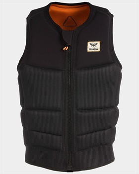 Follow Mitch Happy Fit Wakeboard Impact Vest, S Black 2019
