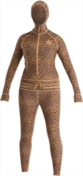 Airblaster Womens Classic Ninja Suit Thermal Base Layer, M Leopard